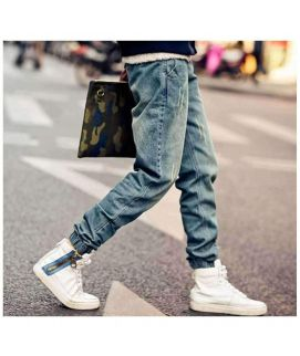 Men's Trendy Blue Jeans