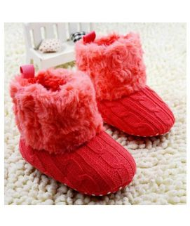 Red Cotton Shoes New Style For Baby