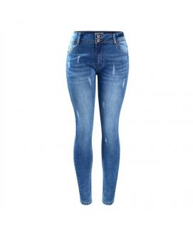 Women's Skinny Fit 2 Button Jeans