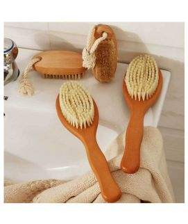 Wooden Shower Body Bath Brush