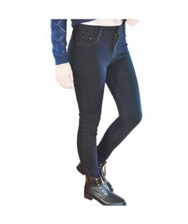 Women's Navy Blue Slim Fit Denim Jeans