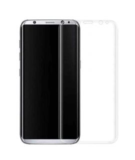 4D Curved Glass Protector for Samsung S8 Transparent