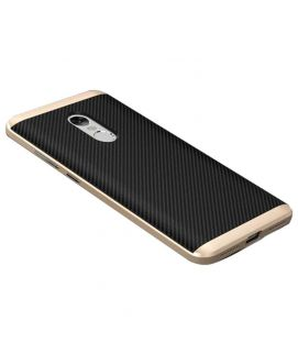 Xiaomi Redmi Note 4 Gold & Black Hybrid PC+TPU Case