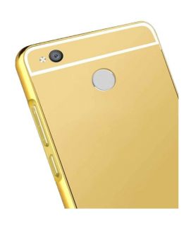 Xiaomi Redmi 4X Gold Mirror Bumper Case