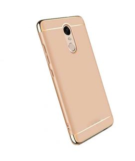 Xiaomi Redmi Note 4 Gold Ultra Thin Electroplating 3 Piece Case