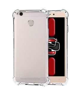 Xiaomi Redmi 4x Anti Knock Soft Case Transparent