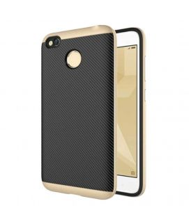 Xiaomi Redmi 4x Hybrid PC+TPU Case Gold & Black