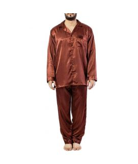 Polyster Satin Men's PJ Set