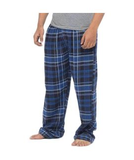 Navy Blue Checkered Cotton Pajama