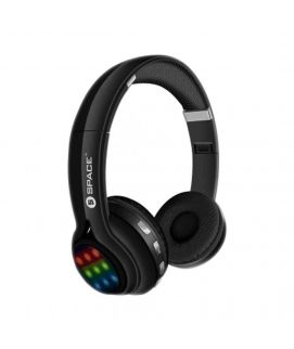 Neon Wireless Headphones With LED Light Show