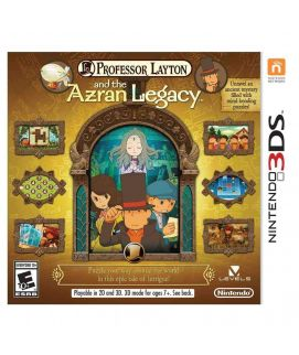 Professor Layton and the Azran Legacy Nintendo 3DS Game (USA)
