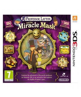 Professor Layton and the Miracle Mask Nintendo 3DS Game (USA)