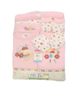 New Born 8 Piece Blanket Gift Set