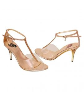 Women's Golden High Heels