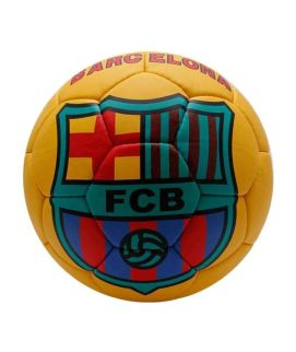 FC Barcelona Messi Football Yellow
