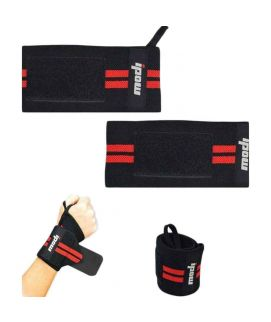 Weight Lifting Gym Strap Hand Support Black