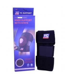 Knee Supports With Stays Black