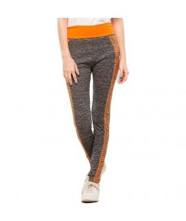 Work Out Stretchy Tights Orange