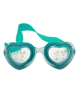 Sports City Mickey Heart shaped Goggles Blue