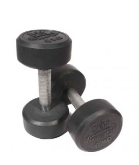 Pair of Dumbbells 6KG Silver