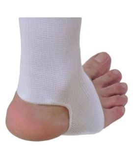 Ankle Elastic Support White