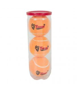 Pack Of 3 Tiger Can Ball Orange
