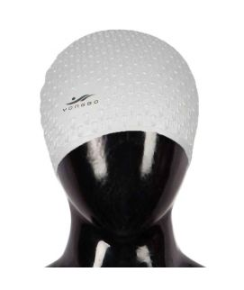 Sports City Swimming Swimming Cap With Ears Protection Silver