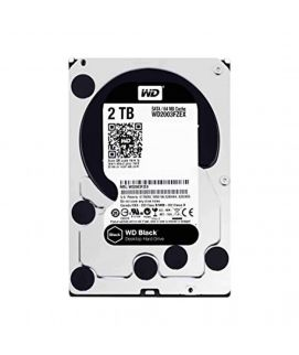Western Digital 2TB 3.5 SATA HARD DRIVE BLACK