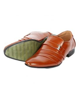 Men's Leather Formal Brown Shoes