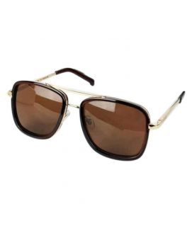 YNG Gucci Sunglasses Brown For Men