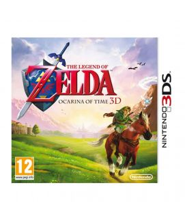 Zelda Ocarina of Time 3DS Game