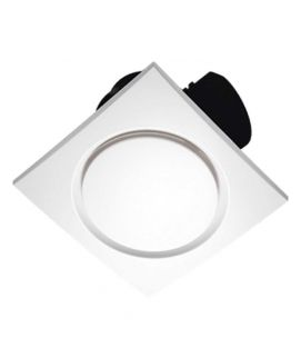 Voldam Super Quiet Ceiling Exhaust Fan 10 Inch Contemporary Designer Look