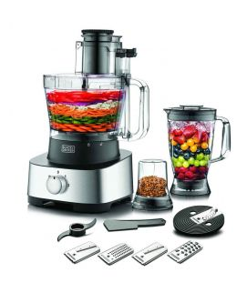 Black and Decker FX1050 4in1 Food Processor With Blender And Grinder 880W