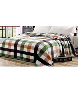 Fleece Blanket Green And Black
