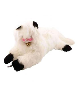 White Large Cat Soft Toy