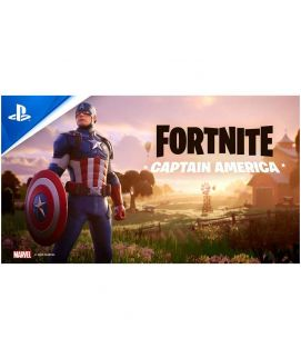 Fortnite Captain America Playstation 4 Game