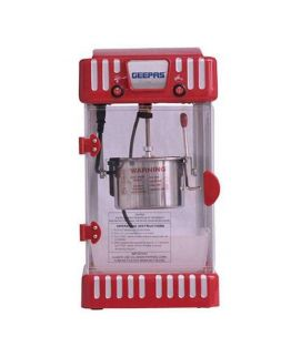 Geepas Popcorn Maker Red
