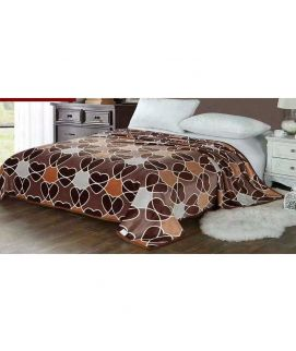 Fleece Blanket Dark Brown