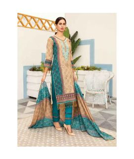 Hania Eman 3Pcs Unstitched Suit Collection 04