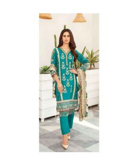 Hania Eman 3Pcs Unstitched Suit Collection 07