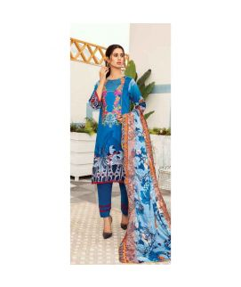 Hania Eman 3Pcs Unstitched Suit Collection 09
