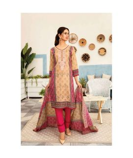 Hania Eman 3Pcs Unstitched Suit Collection 12