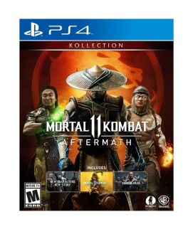 Mortal Kombat 11 Aftermath Playstation 4 Game