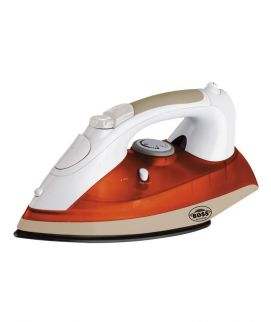 Steam Iron KE SI 236 New White and Orange