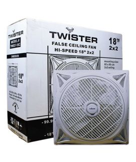 Twister Hi-Speed False Ceiling Fan 18 Inch 2×2