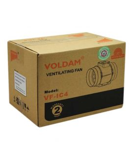 Voldam Mixed Flow In Line Duct Fan Exhaust Blower 10 Inch dia
