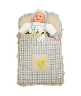 Baby Carry Nest Beige Corn Style