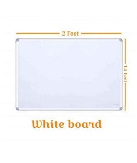 1.5ft x 2ft Dry Erase White Board Hanging Writing Drawing