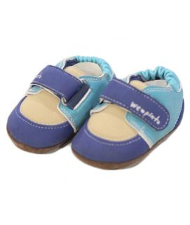 Baby Blue Straps Shoes