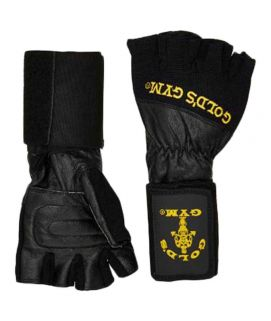 Ab Rocket Golds Gym Wrist Wrap Lifting Gloves Black